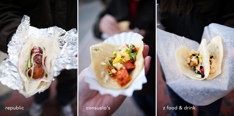downtown Manchester NH restaurants participate in the first Hippo de Mayo Taco Tour