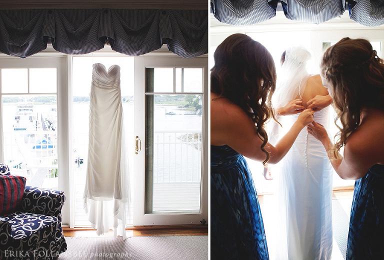 Wentworth by the Sea bridal portrait | NH Wedding