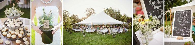 Erika Follansbee NH outdoor wedding photography