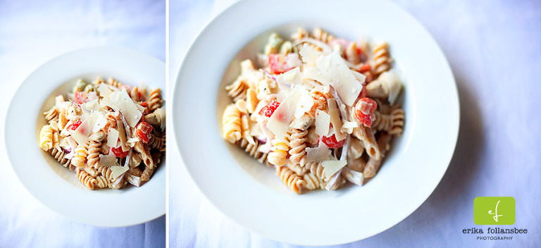 Chicken Caesar Pasta Salad | Recipe