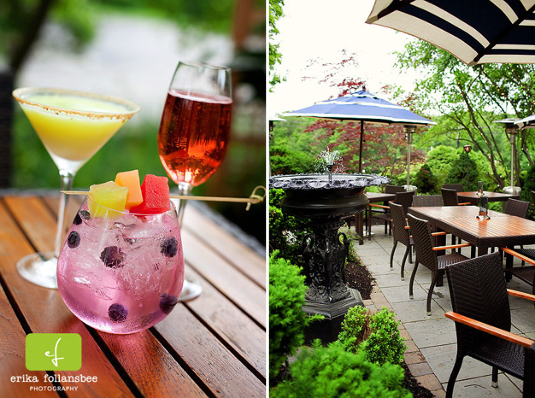 Outdoor Dining at Bedford Village Inn | Patio