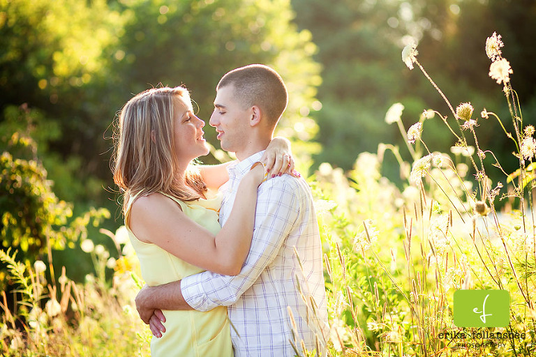Erika Follansbee Photography engagement portraits