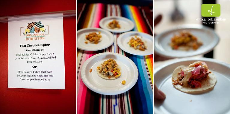 Taste of Downtown 2012 | Dos Amigos | Taco Sampler