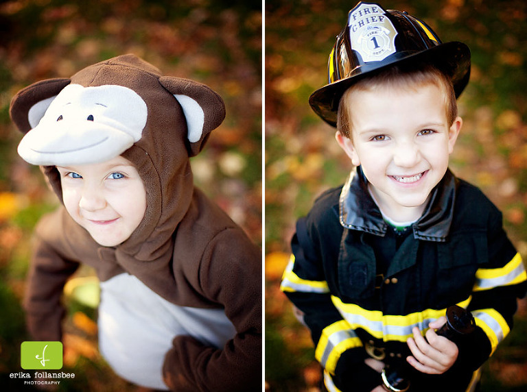 Kids' Halloween Portraits | NH Photographer Erika Follansbee