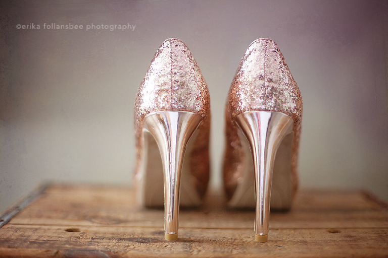 Pink High Heels For Wedding: NH Wedding Photographer