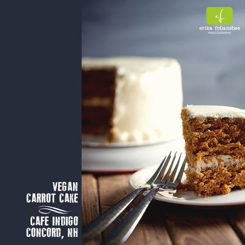 photo of Vegan Carrot Cake | Cafe Indigo