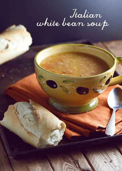 Italian White Bean Soup | Recipe