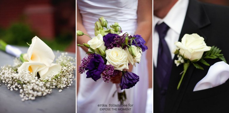 bouquets and boutonneire