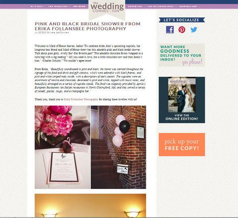 Published on Wedding Connection Magazine blog