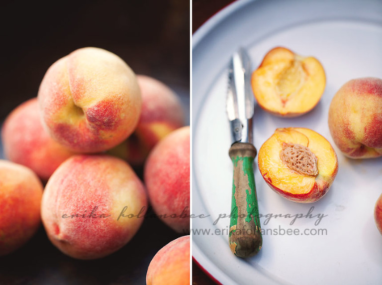Fresh NH Summer Peaches Organic