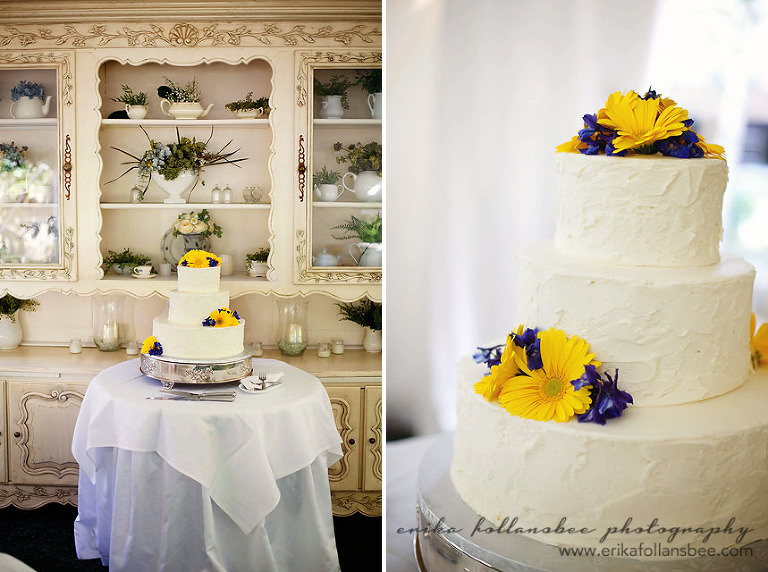 Wedding Cake at the Mile Away Restaurant by Frederick's Pastries NH