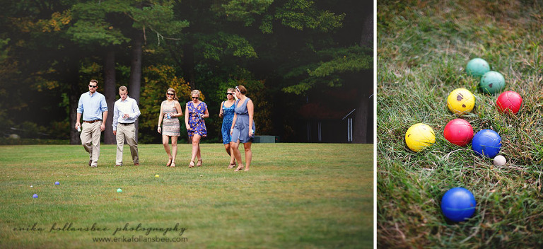 geneva point wedding photos merriment lawn games bocce