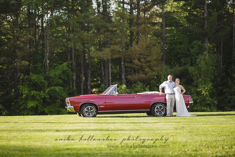1965 GTO wedding car