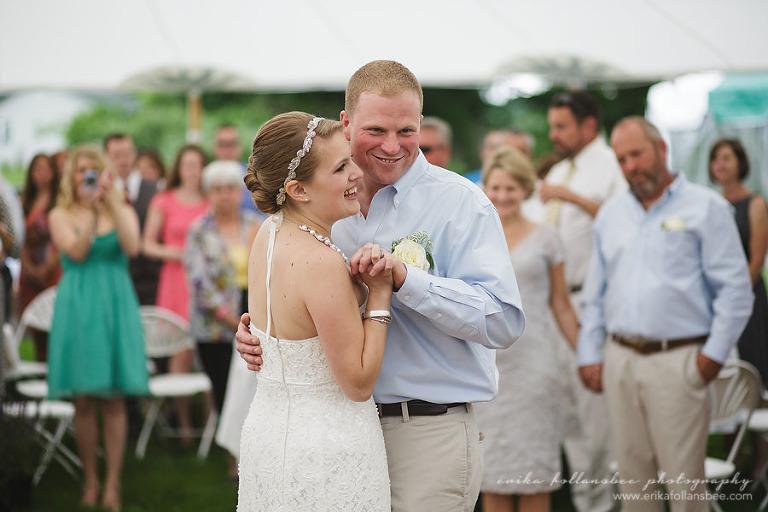 Henniker NH rustic country wedding dancing reception