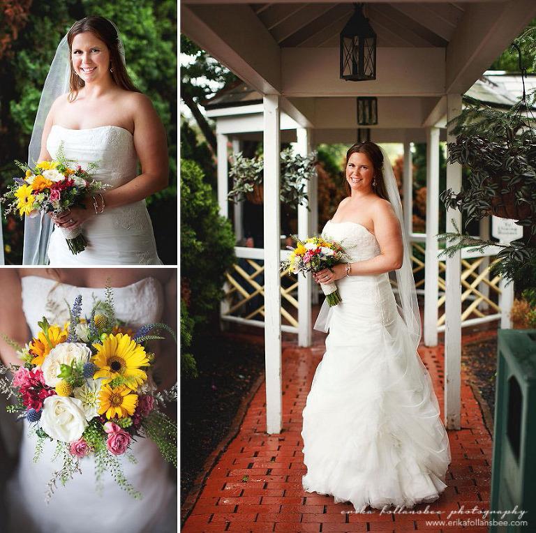 bridal portrait at publick house sturbridge mass
