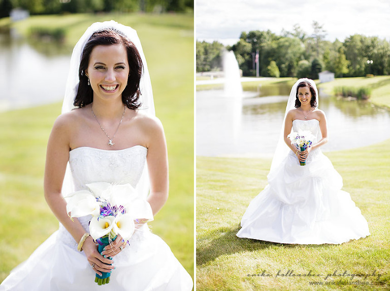 bride at brookstone park derry NH