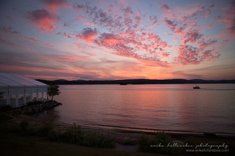 margate resort pink sunset