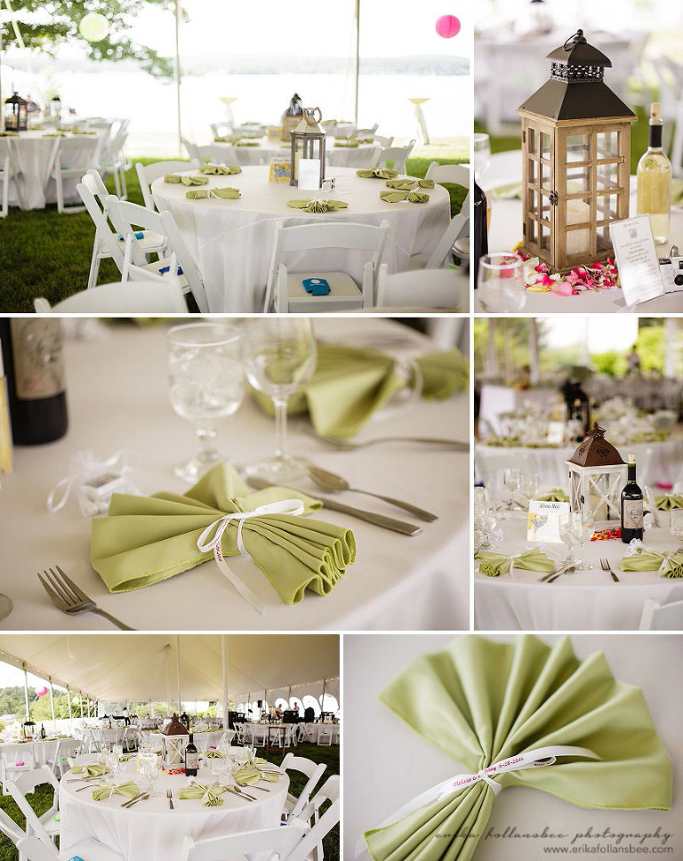 margate resort wedding reception decor