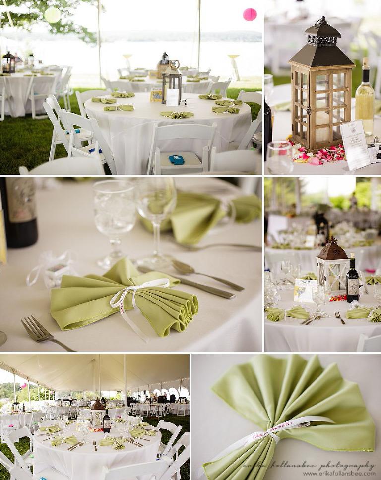 margate resort wedding reception decor