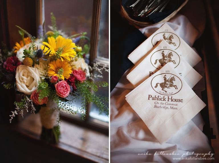 wedding bouquet by Michele Bernard