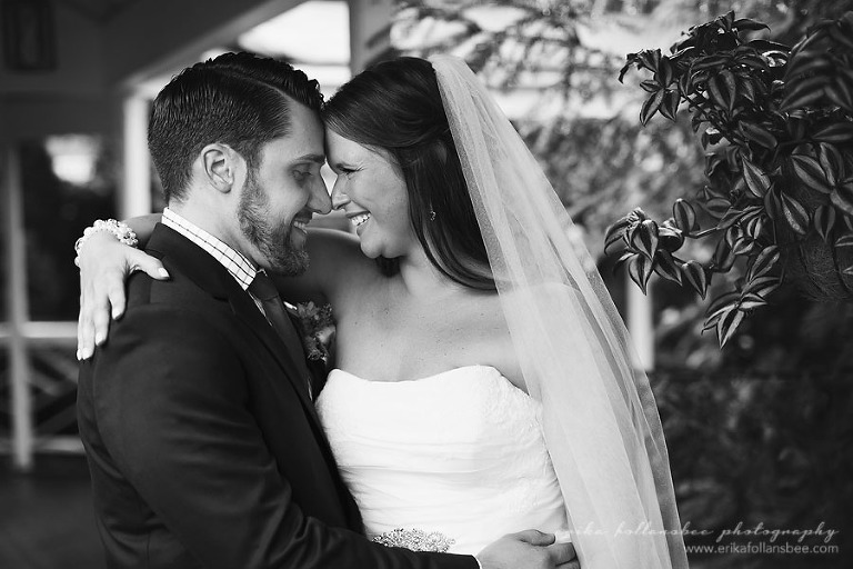 bride and groom at their wedding at Publick House, Sturbridge MA
