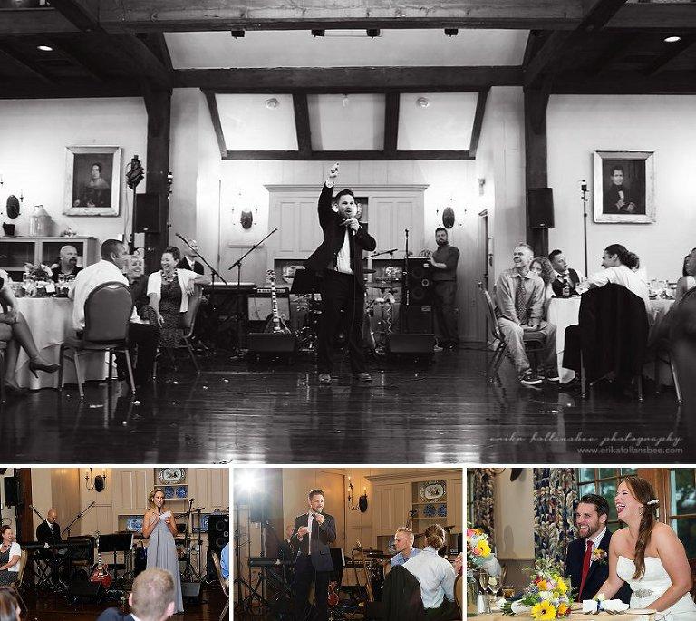 Best Man Speech at the Publick House Historic Inn, Sturbridge MA