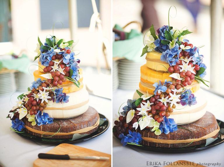 Cheese Wheel Wedding Cake | C'est Cheese North Hampton NH