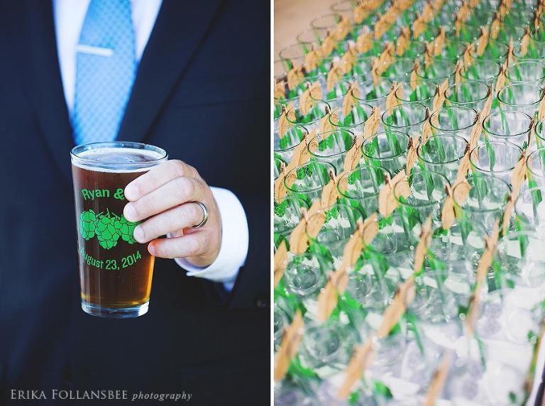 wedding beer at redhook brewery