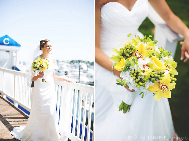 bride at wentworth by the sea marina