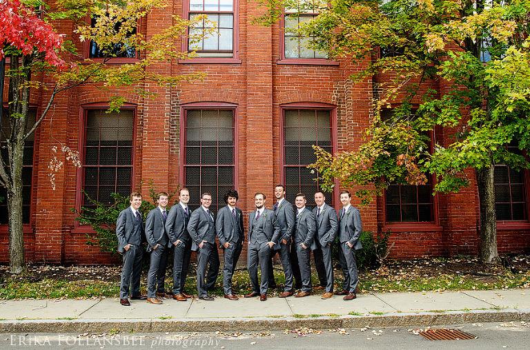 groomsmen at lane hotel keene NH