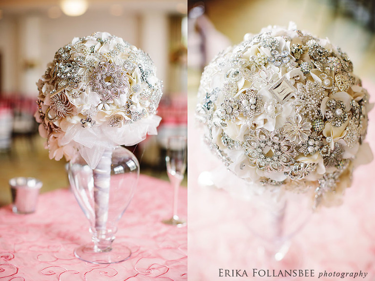 amazing brooch bouquet