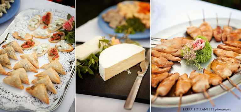 Mile Away Restaurant wedding appetizers | Milford NH | food