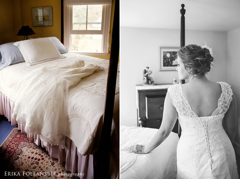 Meadow Wind Bed and Breakfast Wedding | Bride