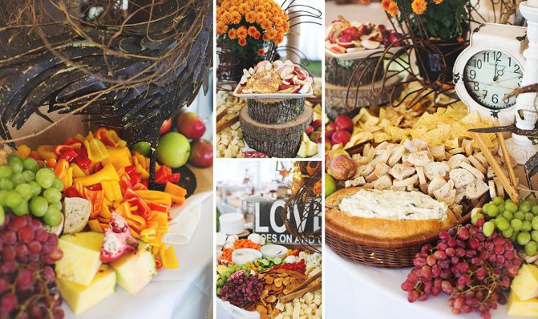 NH Rustic Wedding Food | Amazing Appetizer Table Display, Tracie Nugent catering