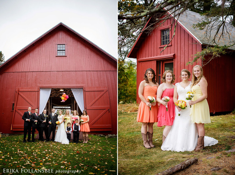 Meadow Wind Bed and Breakfast Barn Wedding | Rustic Fall Wedding