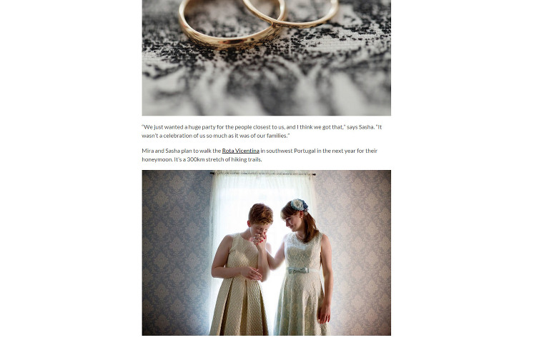 featured on Equally Wed