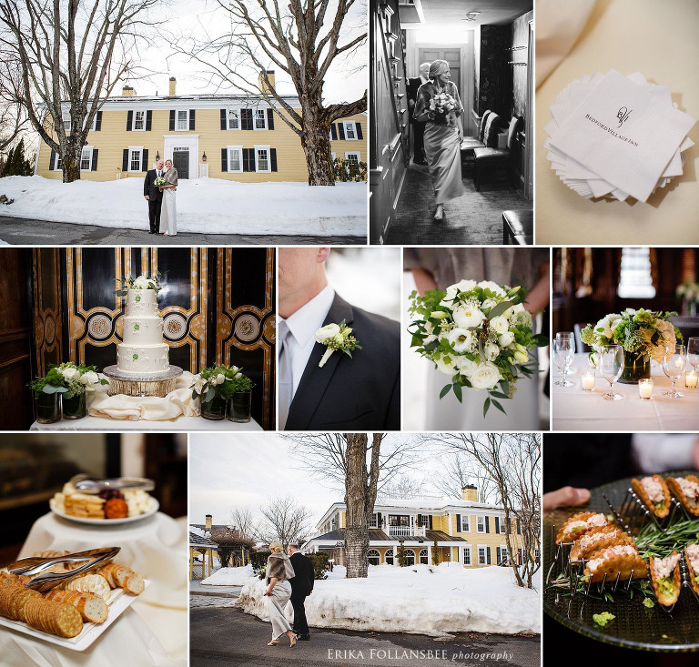 Bedford Village Inn Winter Wedding | Intimate & Elegant