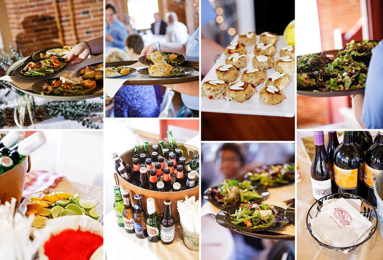 common man catering belknap mill wedding