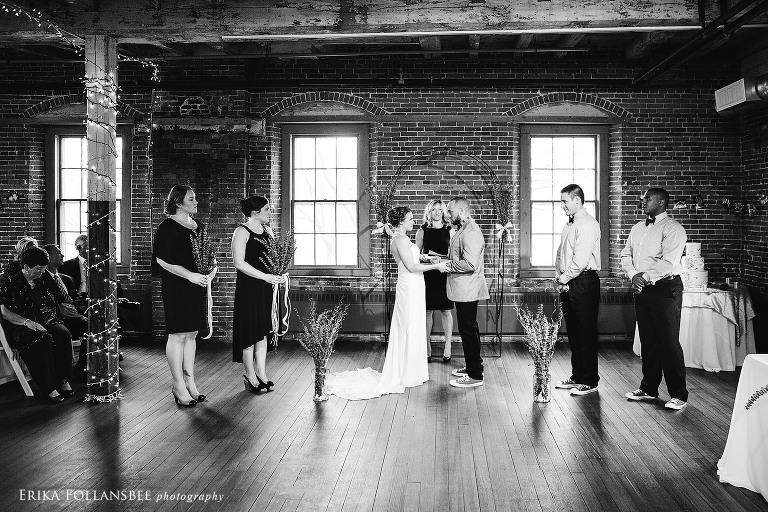 belknap mill wedding ceremony