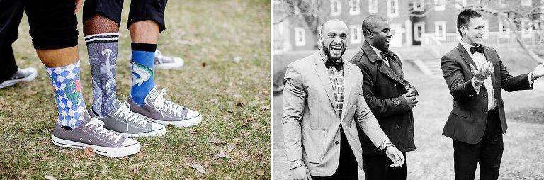 groomsmen wacky socks