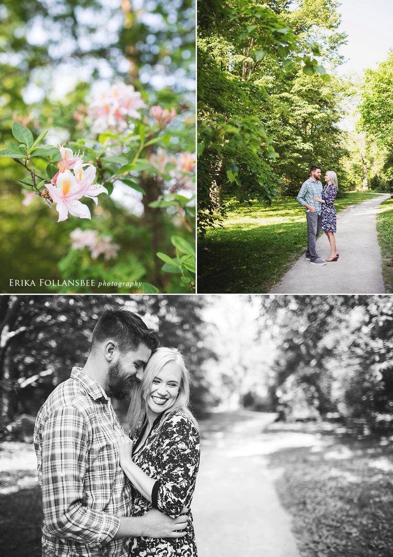 arnold arboretum boston engagement photos