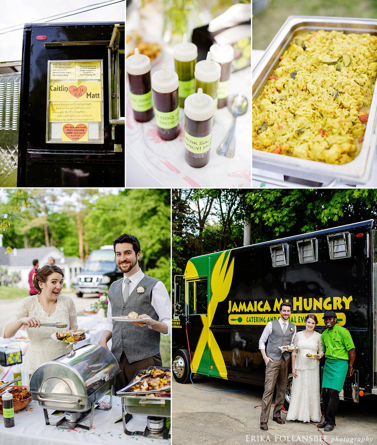 jamaica me hungry food truck wedding catering