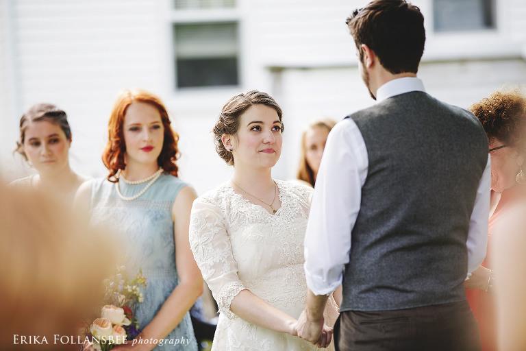 backyard wedding ceremony dover NH
