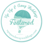 Featured on Up Up and Away Weddings