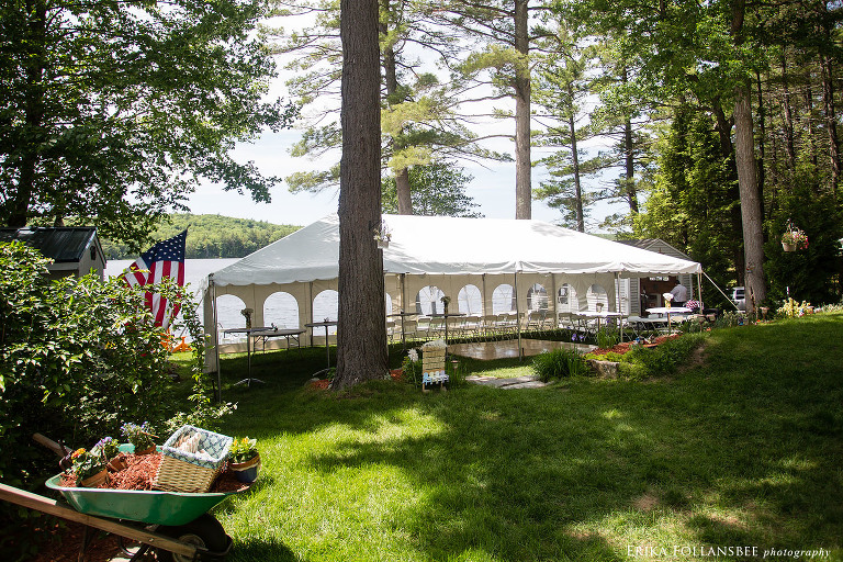 dunbarton camp wedding monadnock tent event