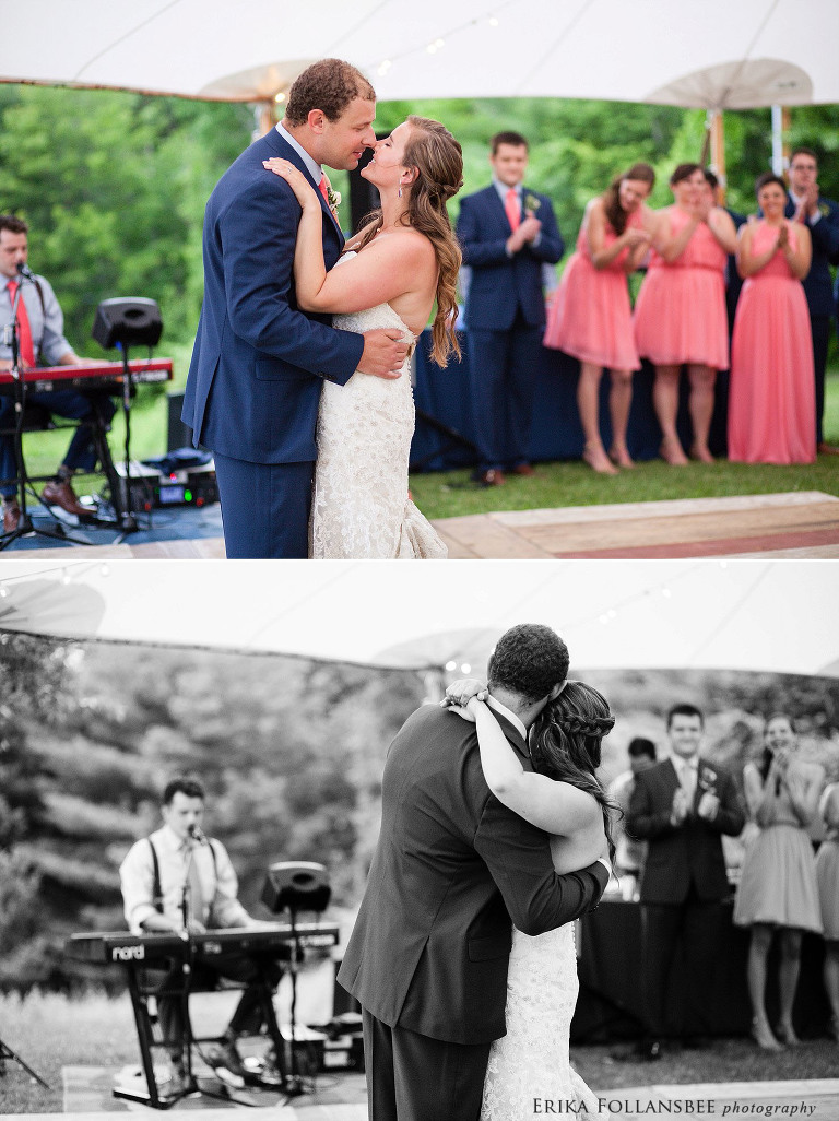 outdoor rustic wedding at freedom acres erika follansbee nh