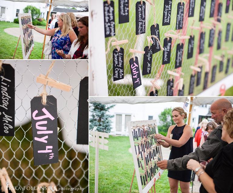wolfeboro inn NH outdoor wedding