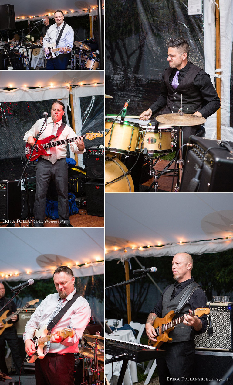 blockhead band at wolfeboro inn wedding
