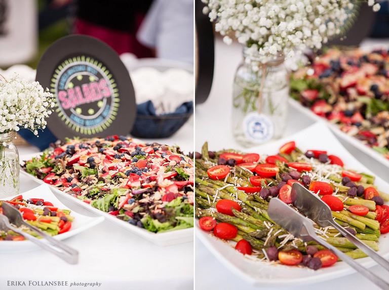 wolfeboro inn NH wedding food