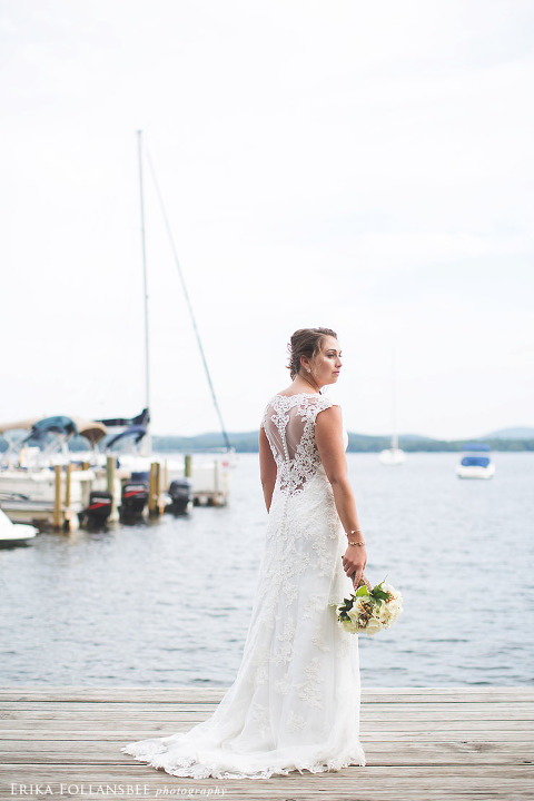 Wedding Gowns Nh 25 Inspirational bride on dock at